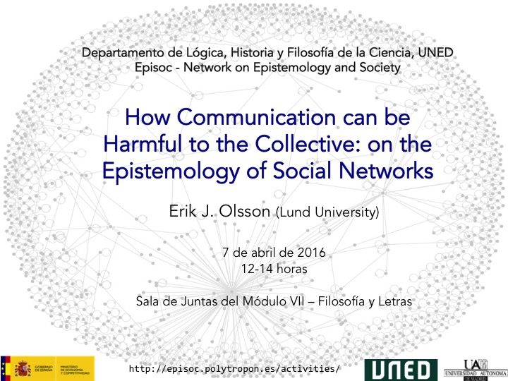 Epistemology of Social Networks